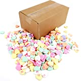 Necco Large Classic Sweethearts, 3 lb Bulk Bag Frustration Free Packaging