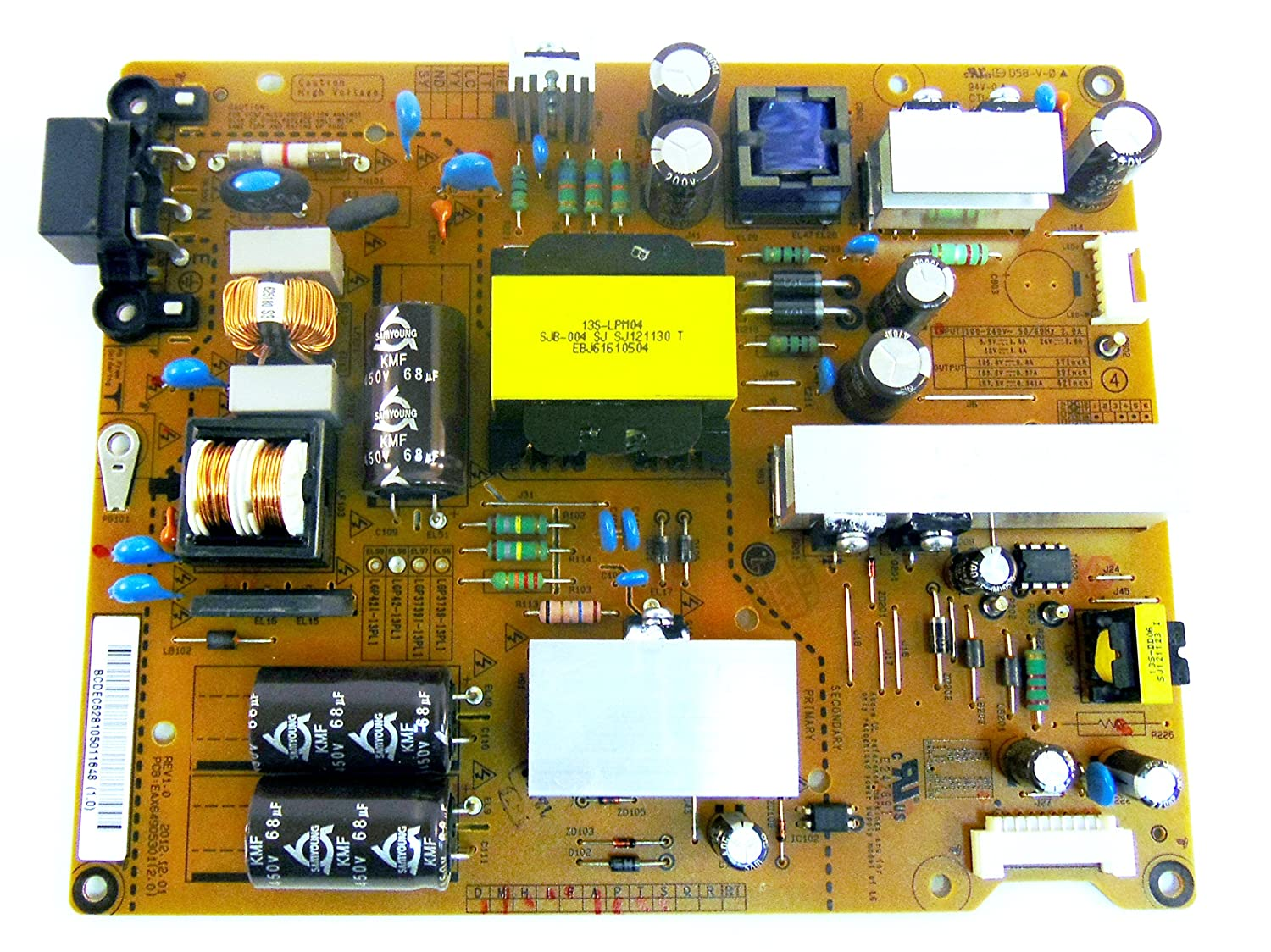 Lg Power Supply Board Eay62810501 Eax64905301 Home Circuit Boards Like Magic Appears Audio Theater