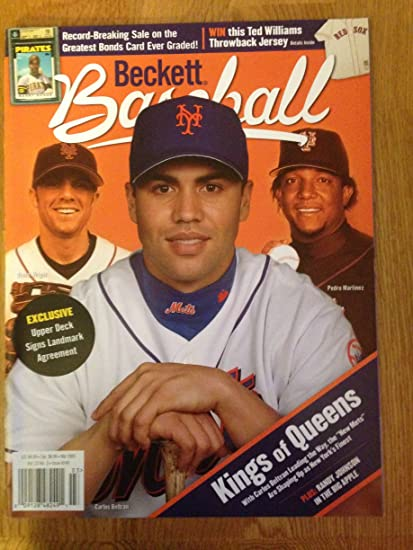 Beckett Baseball March 2005 David Wright Carlos Beltran
