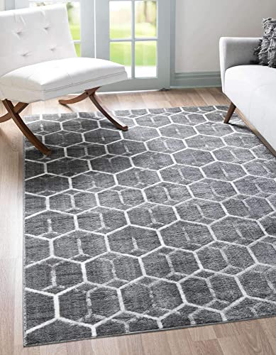 Unique Loom Modern Geometric Area Rug