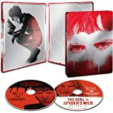 【Amazon.co.jp限定】蜘蛛の巣を払う女 ブルーレイ&DVD スチールブック仕様(初回生産限定)(ビジュアルシート3枚組セット付) [Blu-ray]