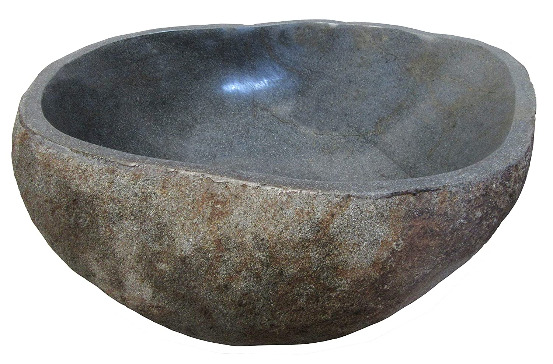 STONE art & more Carcasa, Mini Estanque, Aprox. 35cm, Flujo calcárea, Resistente a Las heladas.