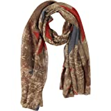 FabSeasons Cotton Abstract Printed Scarf, Scarves, Stole and Shawl for Men & Women