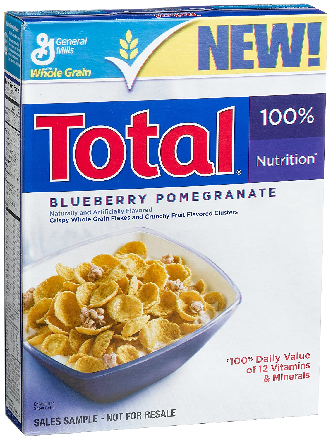 amazon com total blueberry pomegranate cereal 15 25 ounce boxes