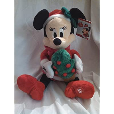 Disney Minnie Mouse Musical Animated Christmas Plush: Toys & Games [5Bkhe0400372]
