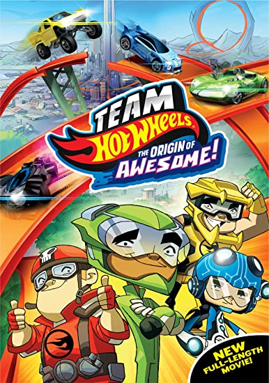 Team Hot Wheels: The Origin of Awesome! (DVD) $2.99 at  amazon.com online deal