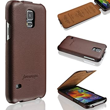 custodia in pelle samsung s5