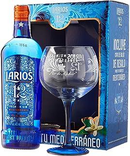 Larios Rosé Ginebra Premium Mediterránea - 700ml: Amazon.es ...