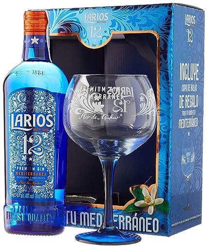 Larios Ginebra con Estuche Copa - 700 ml