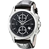 Hamilton Men's H32616533 Jazzmaster Black Dial Watch