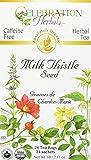 Celebration Herbals Milk Thistle Seed Tea Organic 24 Tea Bag, 60Gm