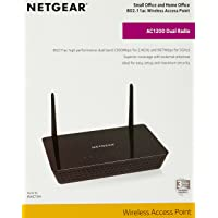 NETGEAR 802.11ac 1200Mbps, Wireless AC Dual Band, 4* Port GIGABIT, Access Point