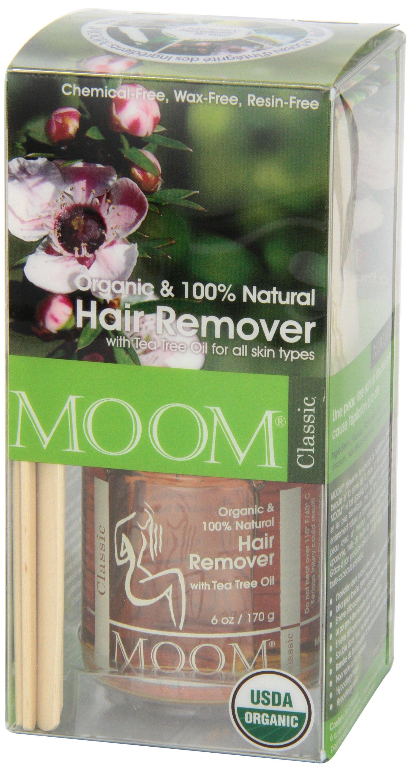 Moom Organic Hair Removal Kit, Tea Tree, 6-Ounce Package by Moom (Image #6)