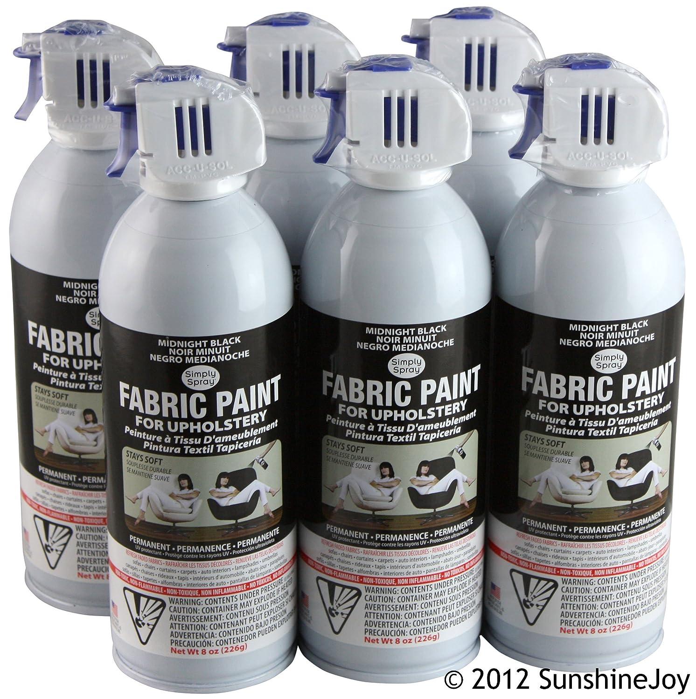 Amazon Com Simply Spray Upholstery Fabric Spray Paint 8 Oz Can 6