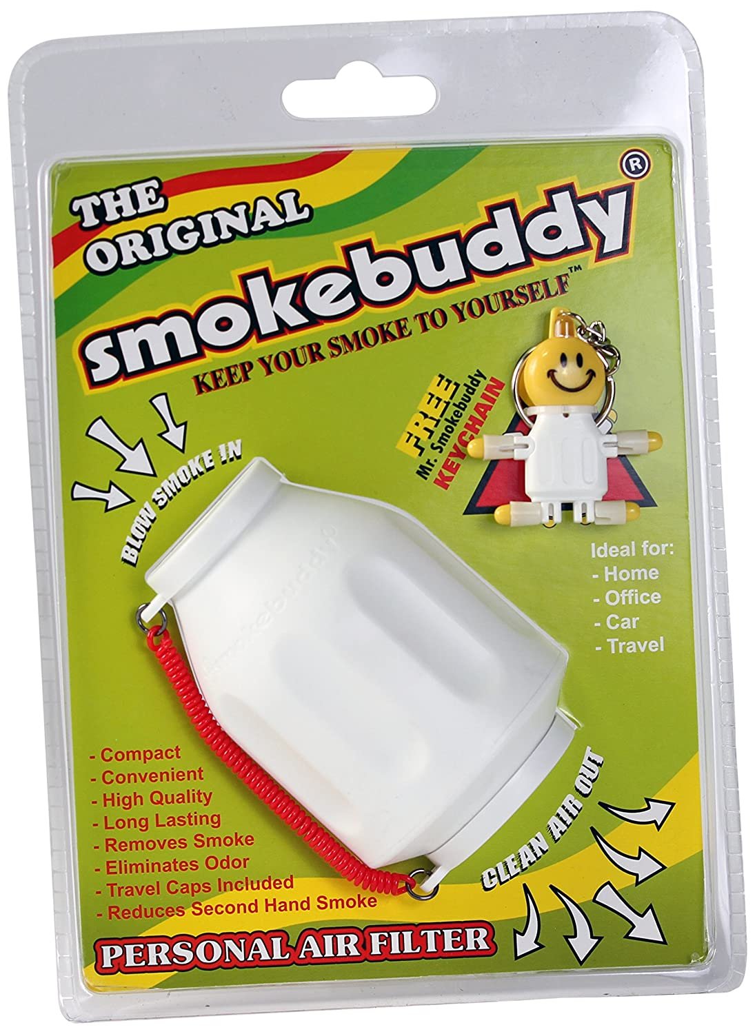 Smoke Buddy 0159-WHT Personal Air Filter, White by smokebuddy smokebuddy?