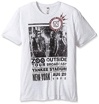 Live Nation U2 Under A Blood Red Sky Slim Fit Camiseta tamaño Mediano Gris: Amazon.es: Deportes y aire libre