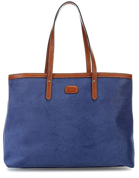 Brics Life Handtasche blau: : Bekleidung
