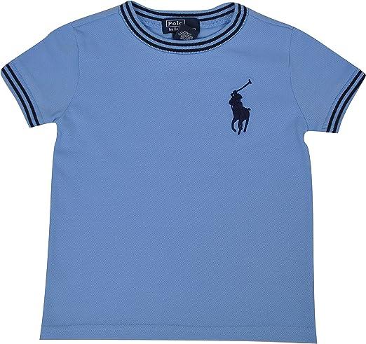 Polo Ralph Lauren - Camiseta - para bebé niño Azul Claro 12 Meses ...