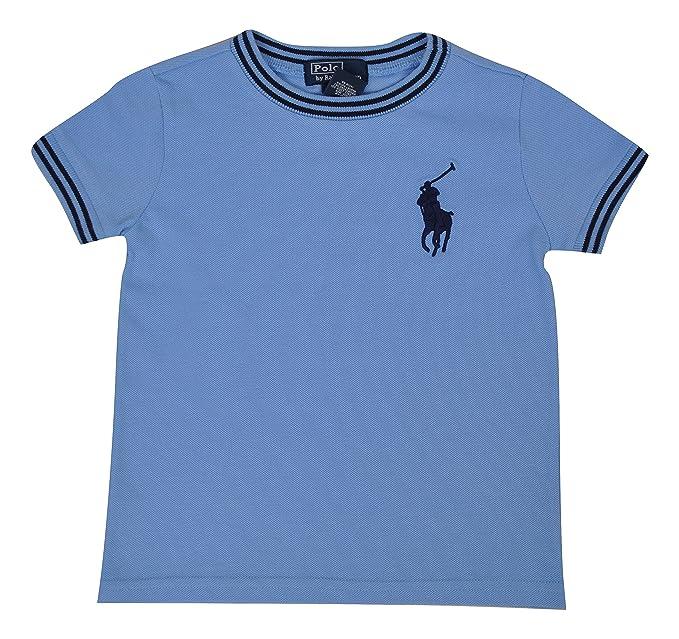 check out a00de bae26 Polo Ralph Lauren T-Shirt Maniche Corte Bambino TG 12 18 24 ...