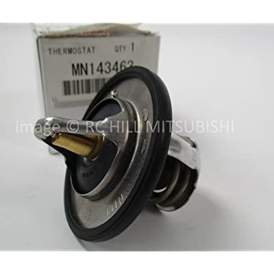 MITSUBISHI MN143463 GENUINE OEM FACTORY ORIGINAL THERMOSTAT CT9A EVO 2.0L TURBO DOHC 2003-2006: Automotive