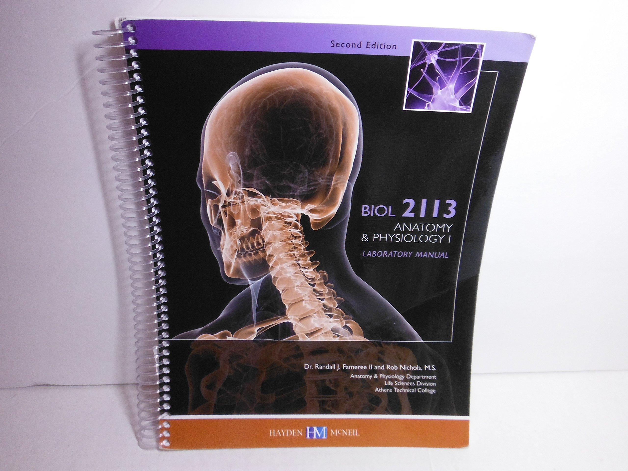 BIOL 2113 Anatomy & Physiology 1 Lab Manual (Athens Tech): M.S. Dr ...