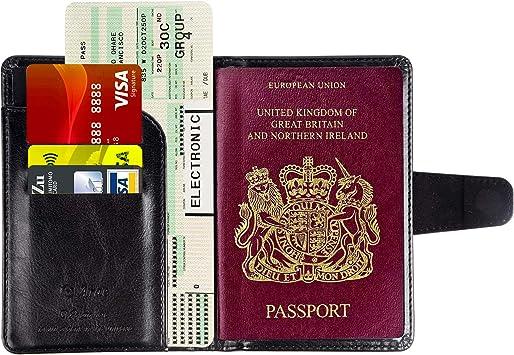 Arae Funda Pasaporte - Protector Cover Case para Pasaporte de ...