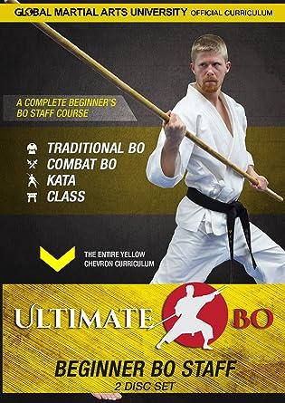 Amazon com: Ultimate Bo: Beginner Bo Staff Training - 2 DVD