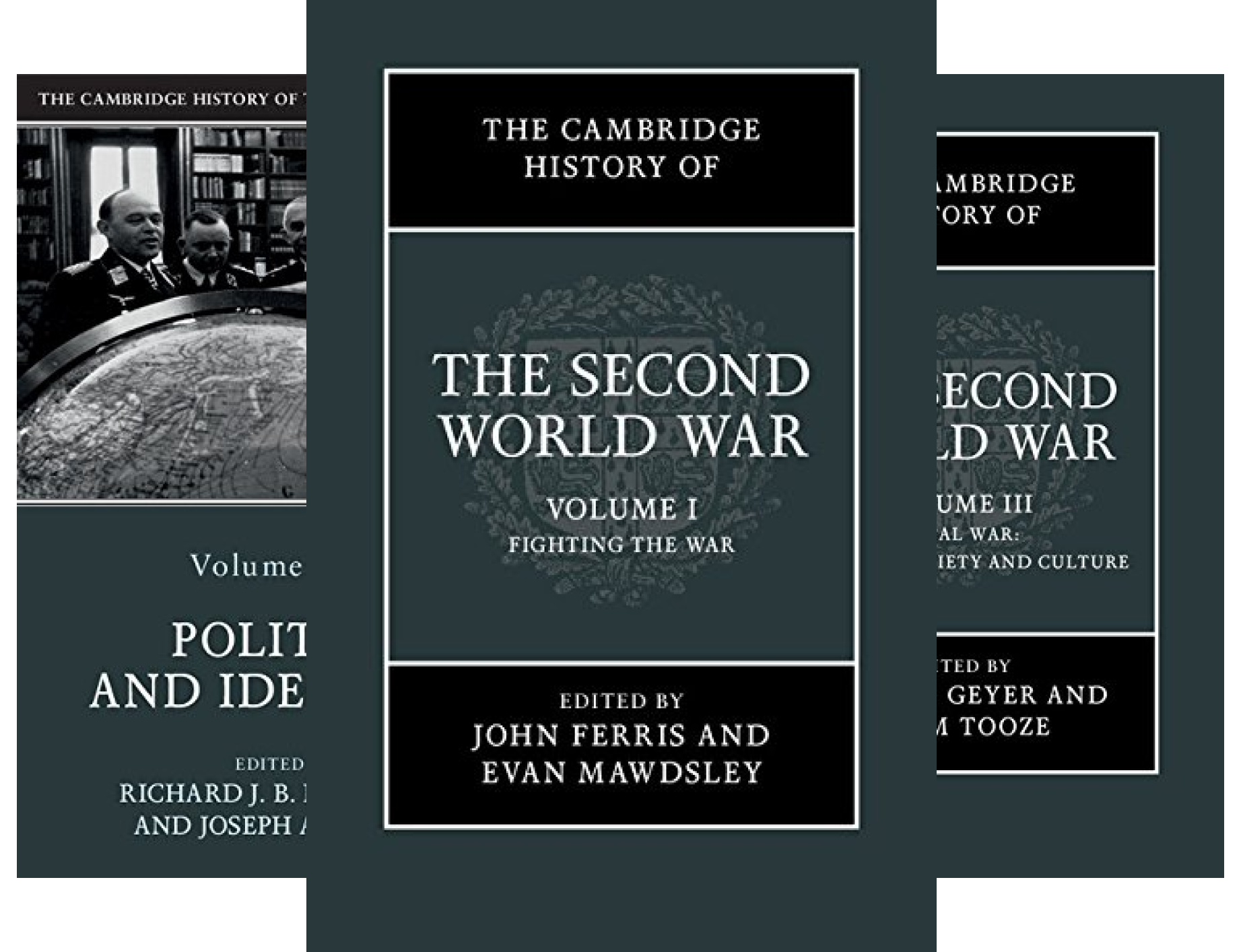 The Cambridge History of the Second World War (3 Book Series)