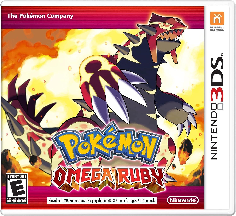 a97d7e607d2d Amazon.com  Pokémon Omega Ruby - Nintendo 3DS  Nintendo of America  Video  Games