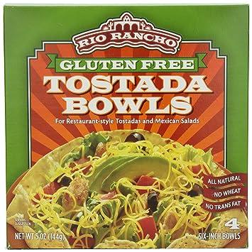Rio Rancho Gluten Free Tostada Bowl, 4 Count