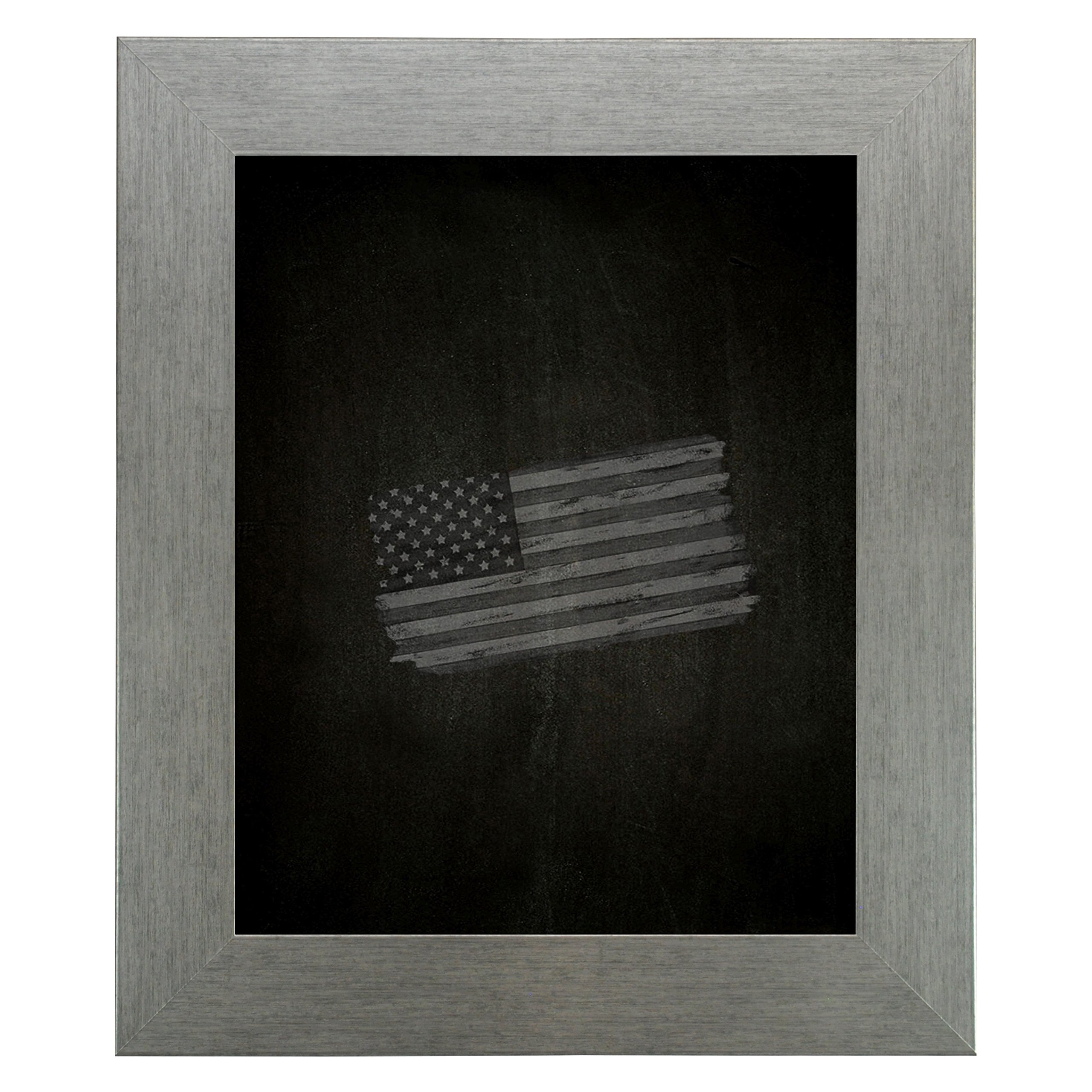 Rayne Mirrors American Made Rayne Yukon Silver Blackboard/ Chalkboard Exterior Size: 24 x 66 by Rayne Mirrors