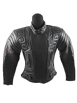 Amazon.es: KENROD Chaqueta moto mujer| Chaqueta de Moto Piel Chaqueta de Motorista con Protecciones Extraibles |Chaqueta de motociclismo Talla M