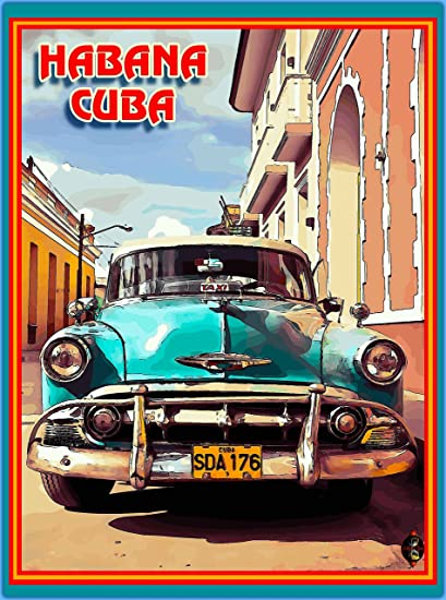 Amazon.com: A SLICE IN TIME Cuba Cuban Havana Island Habana ...
