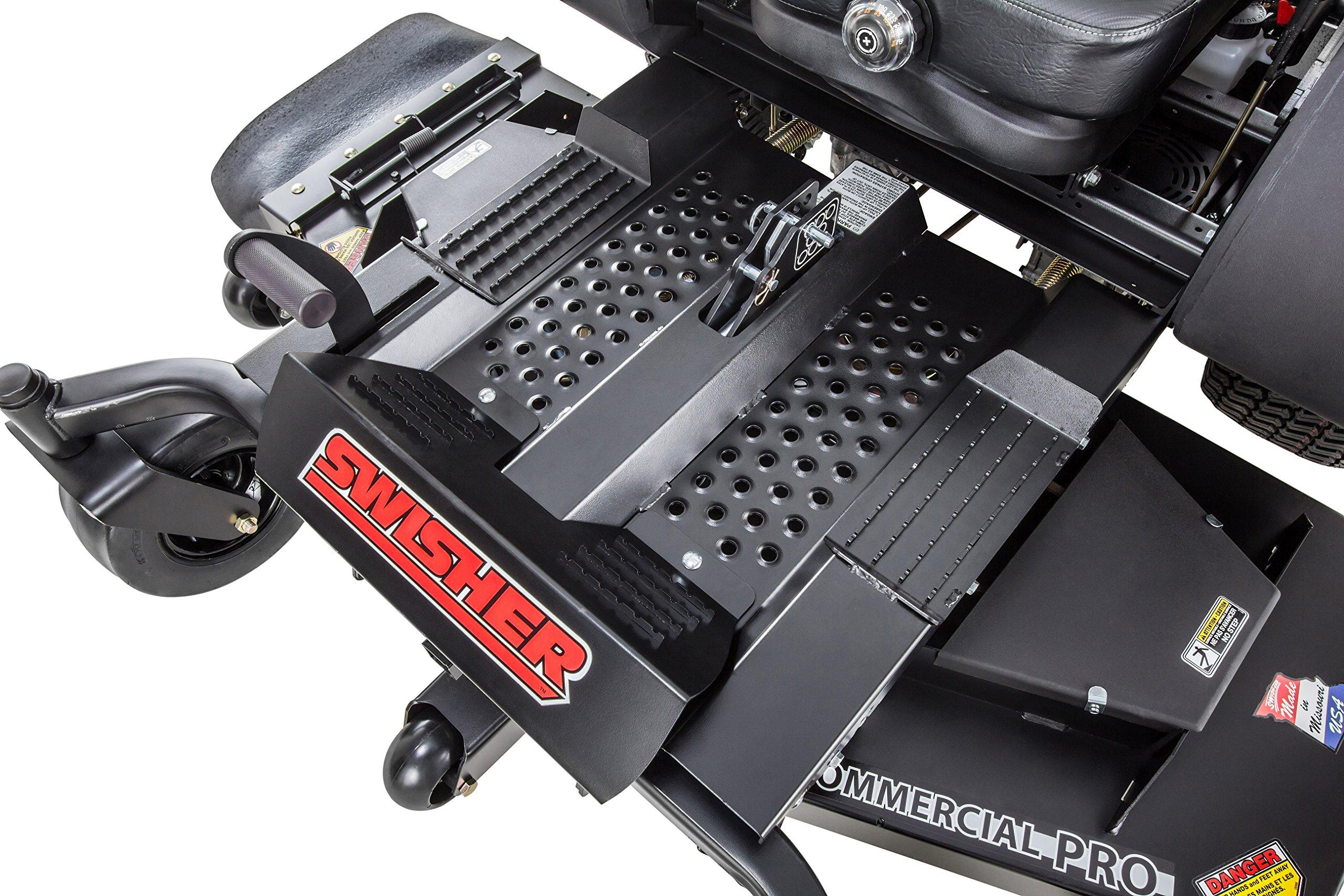 Swisher Z21554CPHO 21.5HP Reponse Gen 2 Honda Ztr Commercial Pro, Black, 54'' by Swisher (Image #13)