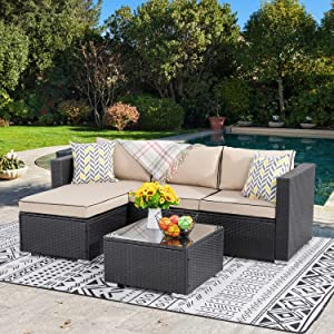 Best Outdoor Rattan Wicker PatioSofa furniture set Reviews