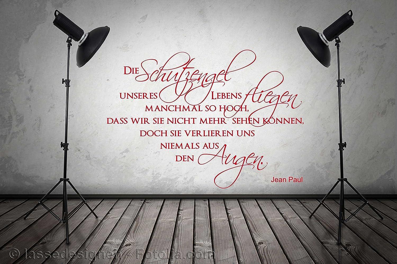 Bezaubernd Schutzengel Sprüche Ideen Von Wandtattoo Sprüche W672 Die Unseres Lebens Fliegen…