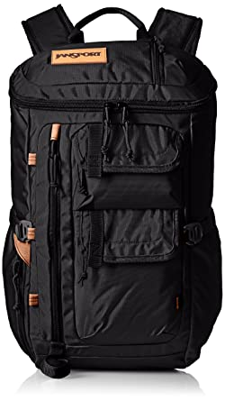 Jansport Watchtower Hiking Backpack Black Ballistic Nylon One Size ...