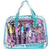 My Little Pony Children Kids Girls Art and Activity Supplies Bag Set 22pcs Ages 3+