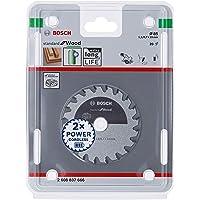 Bosch Professional Cirkelsågblad standard för trä (trä, 85 x 15 x 1,1 mm, 20 tänder, tillbehör batteri cirkelsåg)