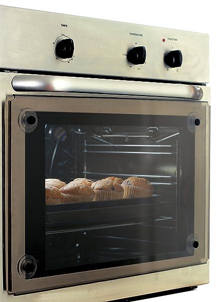 Clevamama - Protector transparente para puerta de horno