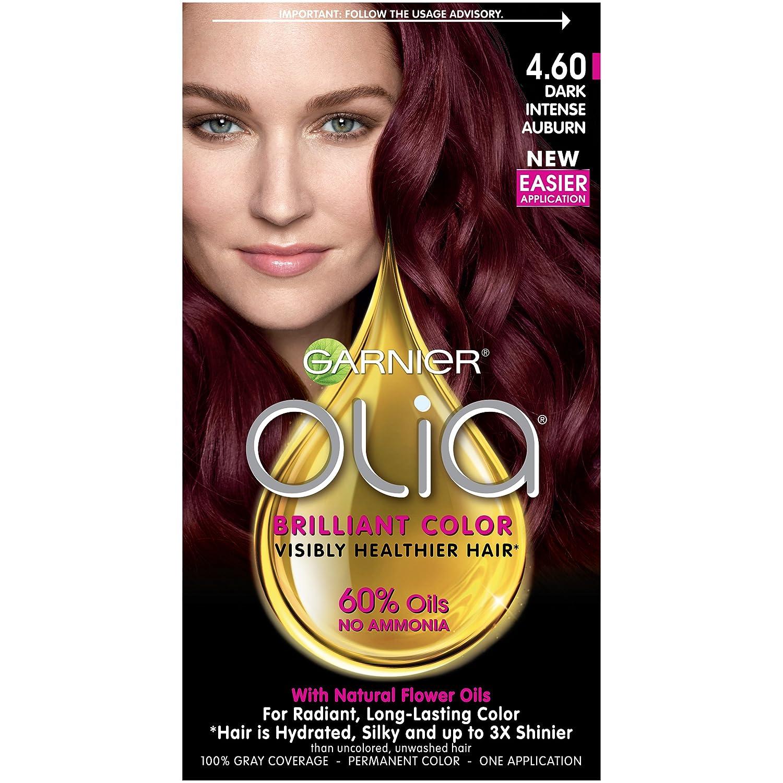 Amazon Garnier Olia Ammonia Free Hair Color 460 Dark Intense