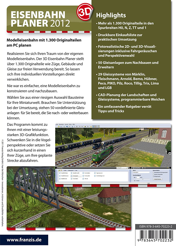 3D Eisenbahnplaner 2012: Amazon.de: Software