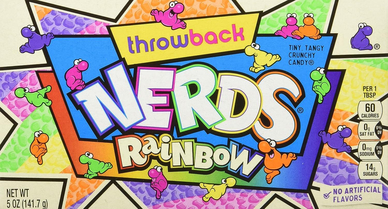 Nerds Rainbow Caramelos - 142 gr - [Pack de 4]: Amazon.es: Alimentación y bebidas