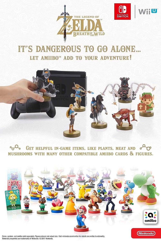 Amiibo: The Legend of Zelda Series - Botw: Zelda: Amazon co