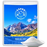 Dead Sea Salt From Israel - Soothing Body Exfoliator - 2 Lb - Use for skin therapy, soap, lotion, body and facial scrub, shampoo, cream, bath salts etc. Aspen Naturals Brand