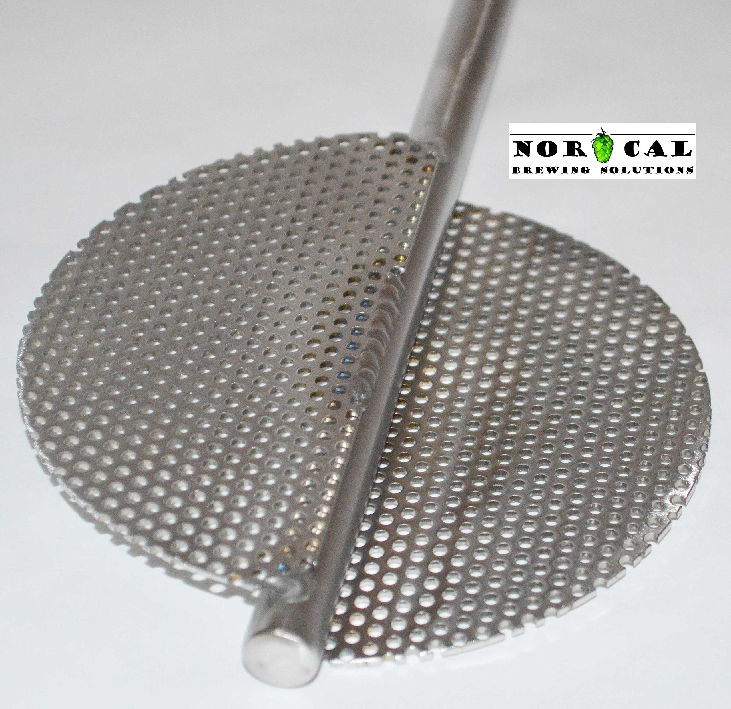 Jaybird Stainless Steel EXTREME Twin Blade Homebrew Beer Brewing Mash Paddle by NorCal Brewing Soutions