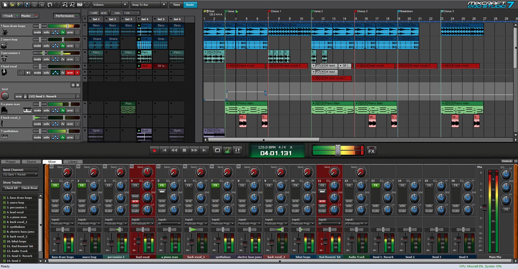 mixcraft system 100