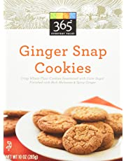 365 Everyday Value Ginger Snap Cookies, 10 oz