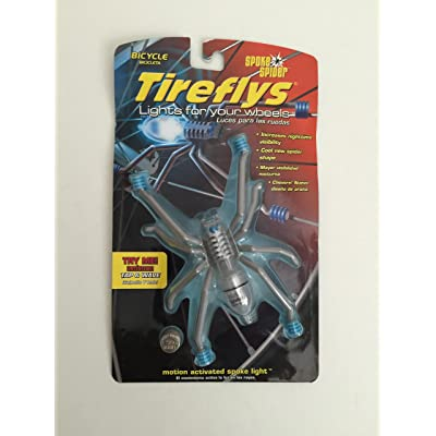 TireFlys Bicycle Spoke Light Spoke Spider : Bike Lights And Accessories : Sports & Outdoors