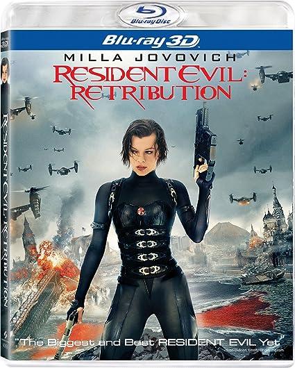 Amazon Com Resident Evil Retribution 3d Two Disc Combo Blu Ray